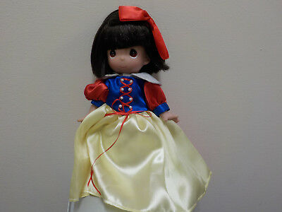 """Precious Moments Doll, Snow White, 9"""" Inch Fairy Tale Doll, The Doll Maker"""