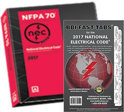 NFPA 70 National Electrical Code, NEC, Looseleaf with Fast Tabs 2017 Editions