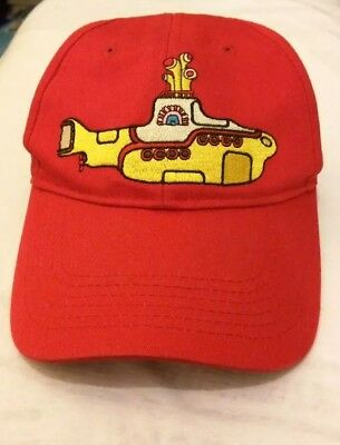 The Beatles Yellow Submarine Cap