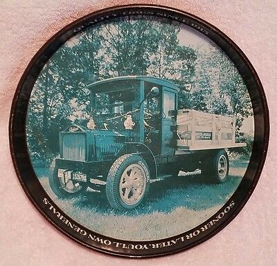 General Tire 1918 Packard 4 Cylinder Delivery Truck Serving Tray