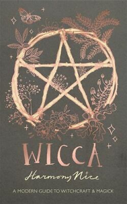 NEW Wicca By Harmony Nice Hardcover Free Shipping