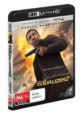 NEW The Equalizer 2 (4K UHD/Blu-ray/UV) Blu Ray Free Shipping