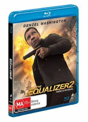 NEW The Equalizer 2 (Blu-ray/UV) Blu Ray Free Shipping