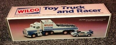 WILCO 1992 Toy Truck and Racer. (F7)