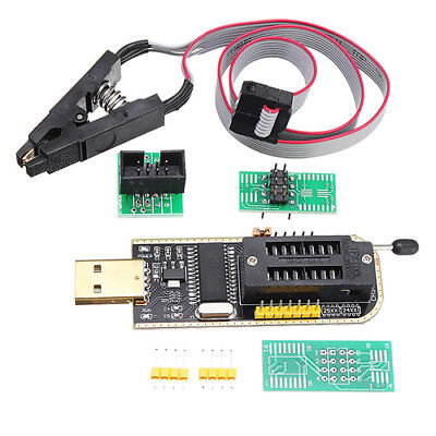 CH341A 24 25 Series EEPROM Flash BIOS USB Programmer + SOIC8 SOP8 Test Clip