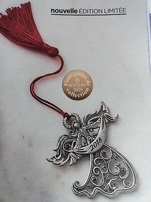 2018 Avon Angel Pewter Collectible Ornament - Limited Edition