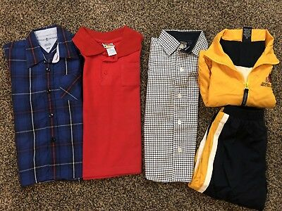 Lot Of Toddler Boys Size 3 / 3T short sleeve Shirts And Outfit New & Pre - worn