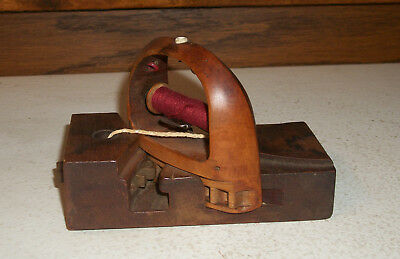 Vintage Wooden Loom Clothing Label MakerSewing Shuttle