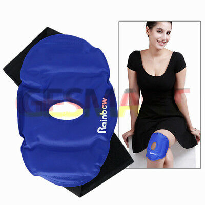 Flexible Nylon Cold And Hot Treatment Gel Wrap Around Knee Joint Pain Relief