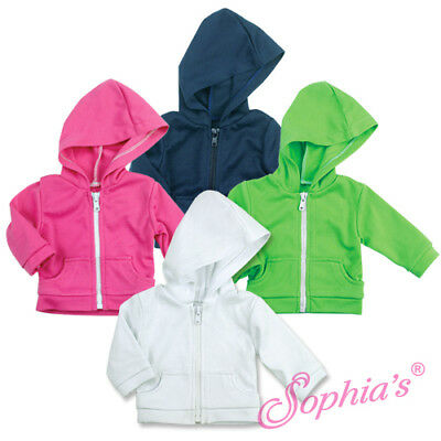 """18"""" Doll Hooded Sweatshirt - Clothes for American Girl Dolls - AG"""