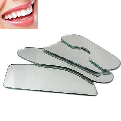 4X Polished Dental Orthodontic Intraoral Single Side Glassed Photographic Mirror