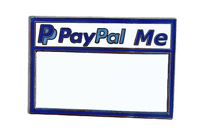 Paypal Me Pin ( With Dry Erase Board )  Pinbacks, Enamel pins, paypal