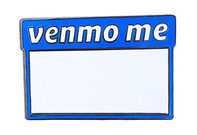 Venmo Me Pin ( With Dry Erase Board )  Pinbacks, Enamel pins, venmo shirt