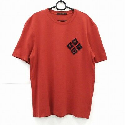 Louis Vuitton short sleeve T-shirt chest patch logo apparel Free Shipping [used]