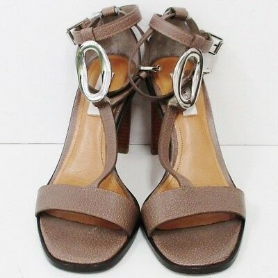 COACH leather sandals strap Ladies 36.5 accessories Free Shipping [used]