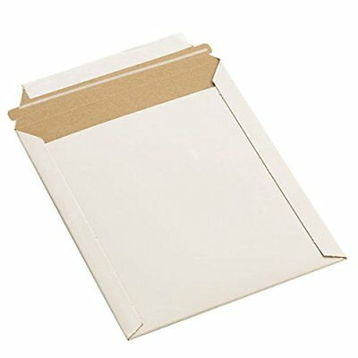 "9.75""x12.25"" Rigid Photo Mailers Envelopes Flat Document SELF SEAL 100 to 1000"