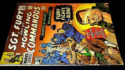 Sgt. Fury & His Howling Commandos #27 ~ The Eyes Have It! ~ For $2.99??  Wow!!!
