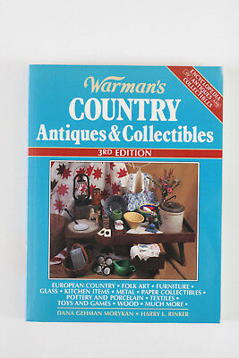 Warman's COUNTRY ANTIQUES & COLLECTIBLES 3rd Edition - Paperback - 1996