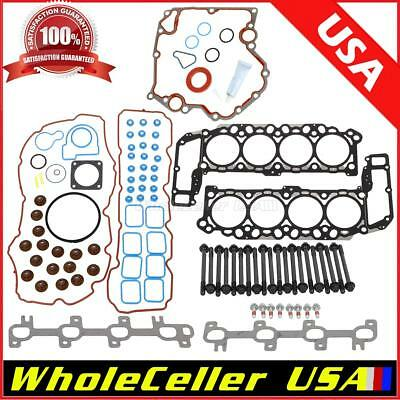 Gasket Cylinder Head Bolts For Chevy 283 305 327 350 377 383 400 406