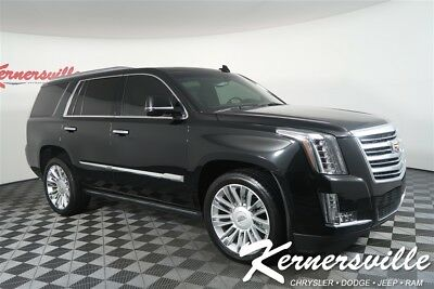 2015 Cadillac Escalade Platinum 4WD V8 SUV Heated And Ventilated Leather Seats