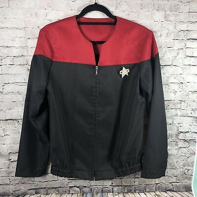 Star Trek Deep Space Nine DS9 Voyager Jacket NEW Size S/M GOLD Ops