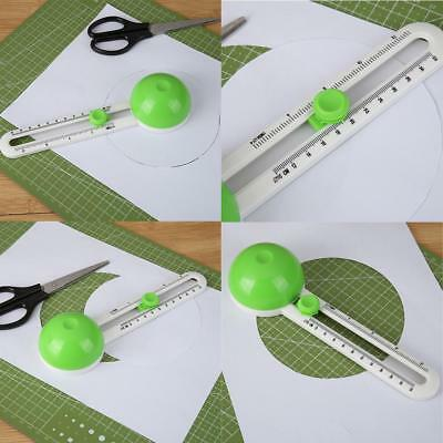 Round Cutting Knife Patchwork Compass Circle Cutter Scrapbooking Paper Cutters