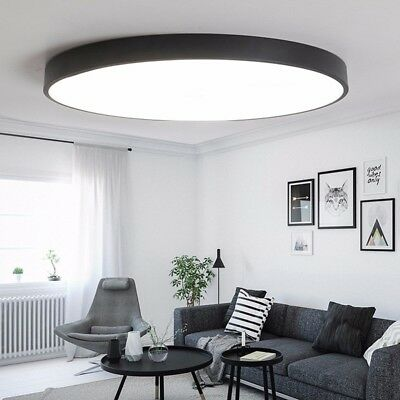 12/18W LED Ceiling Down Light Ultra Thin Flush Mount Kitchen Lamp Home Fixture