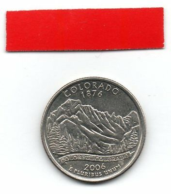 UNITED STATES Quarter COLORADO 2014 25c cents State USA US coin P
