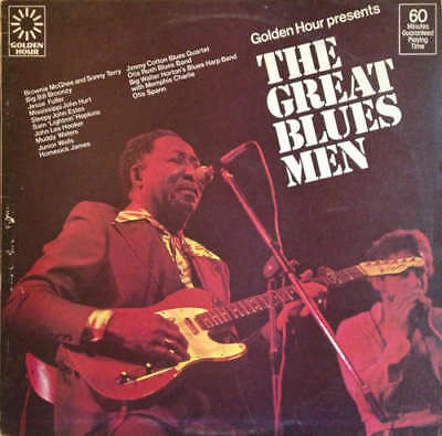 Various - Golden Hour Presents The Great Blues M Vinyl Schallplatte - 158777