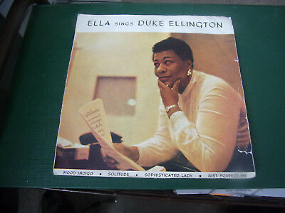 Ella sings Duke Ellington / EP / 4 Tracks /