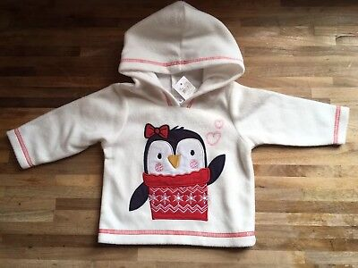 BNWT baby Girl 0-3 Month M&Co Christmas Jumper