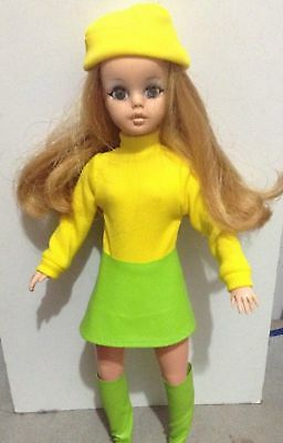 Susi doll by Estrela from 1970 Brazilian vintage doll