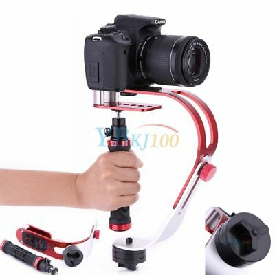C/U Shape Bracket Grip Video Handheld Camera Stabilizer W/ Removable Hot Shoe