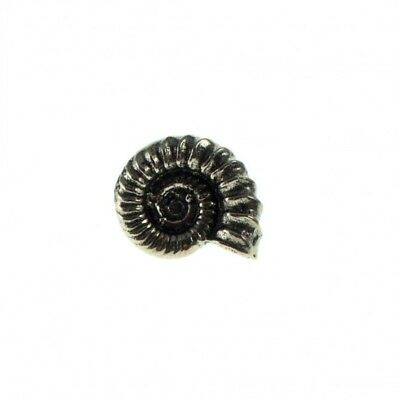 Ammonite Fossil Metal Pin Badge/Brooch Paleontology Geology Shell Gift BNWT/NEW