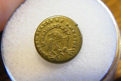 Patriotic 1812-1820 Army Infantry Officers Cockade Button