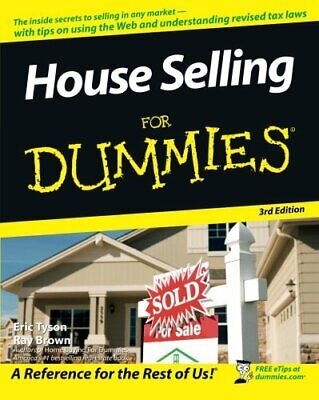 House Selling for Dummies 3rd Edition by Tyson, Eric Paperback Book The Cheap