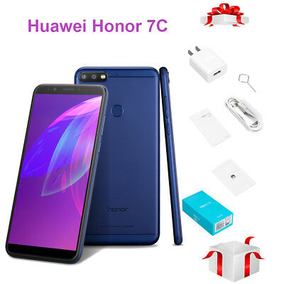 Face ID Huawei Honor 7C 5.99'' 8-core 3Go+32Go 3000mAh Android 8.0 4G Smartphone