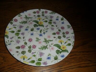 Queens China Country Meadow Breakfast Plate. Very good condition.