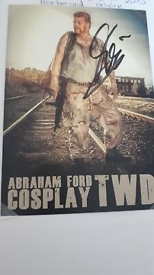 The Walking Dead Abraham Ford Cosplay Autogramm