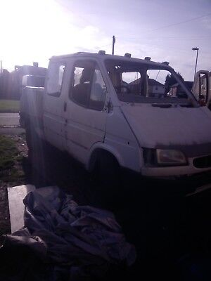 Ford Transit breakdown truck 1987 unfinished project