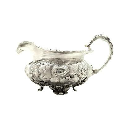 Antique Sterling Silver George Iv Jug - 1829