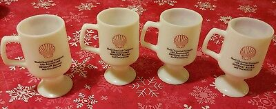 Shell Oil Gas Chemical Company Glasses