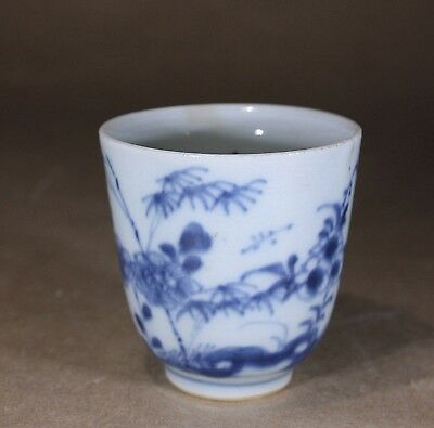 Antique Chinese Porcelain Coffee Can