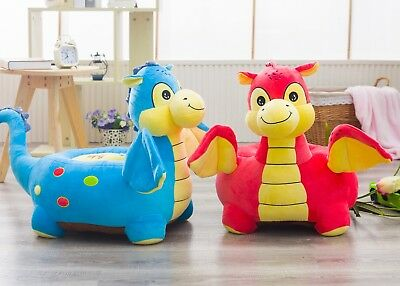Baby Dragon children's seat sofa chair toddlers nursery soft play toy bean bag