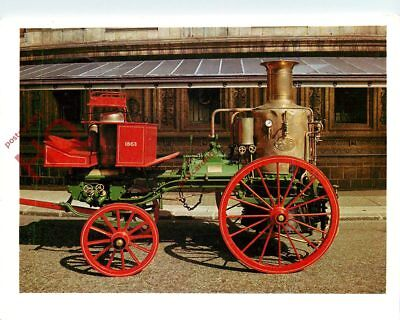 Picture Postcard:;STEAM FIRE ENGINE, 1863 [SCIENCE MUSEUM]
