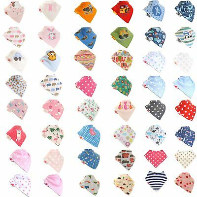 Zippy Quality Baby Boys Girls Bandana Dribble Bibs Gift Box of  4 or Single Bib