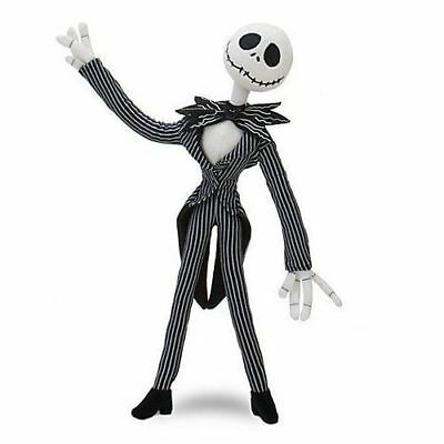 "Disney Nightmare Before Christmas Jack Skellington 12"" Plush Doll USA Seller"
