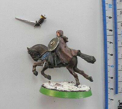 MOUNTED BOROMIR Metal LOTR Lord of the Rings Good Army Knight Warhammer 55