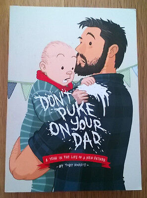 Don't Puke On Your Dad! **Rare New Zealand Indie Graphic Novel**
