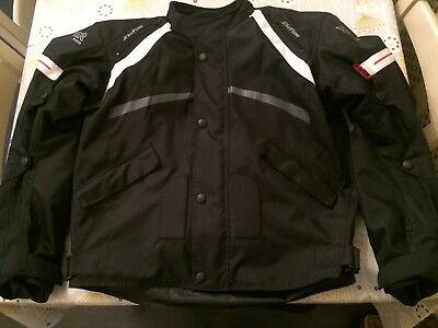 Viper | Charger-Jacket-Black-Textile-Waterproof-Armoured Motorcycle | Low-Price